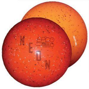 Neon Speckled Orange