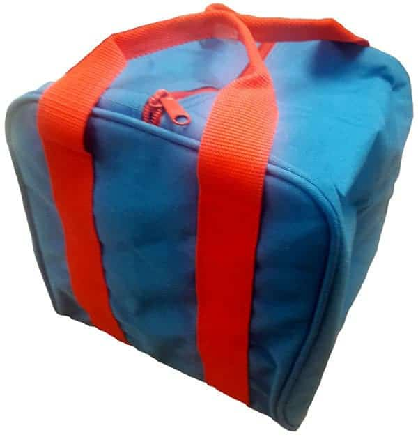 bocce-bag-blue-bright-red-handles